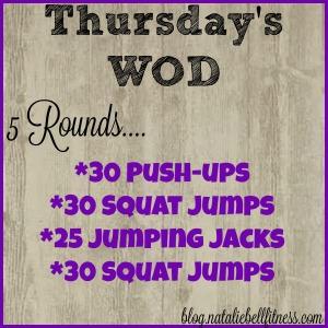 Thursday WOD Idea